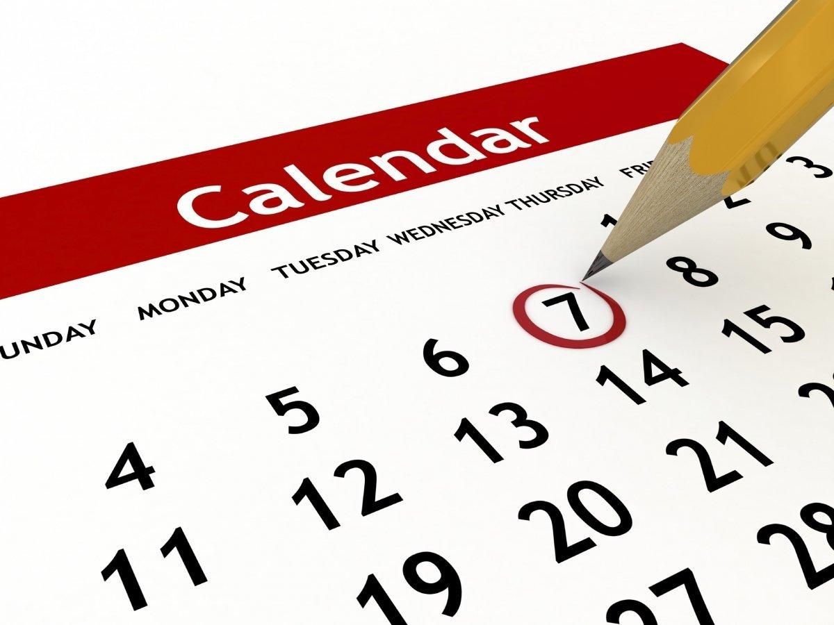 Calendar Planning Photo